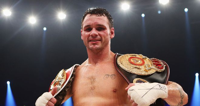 Daniel Geale: Cleared for an optional defence by the IBF