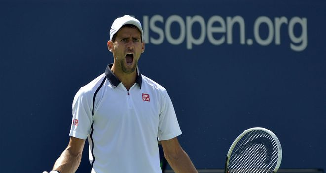 Novak Djokovic: Will meet Andy Murray in the US Open final after beating David Ferrer
