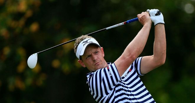 Luke Donald: Four-shot lead at halfway point in Japan