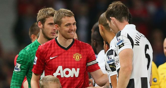 Darren Fletcher: back in action