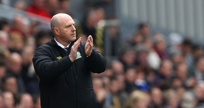 Steve Kean: The Blackburn boss was subjected to familiar abuse from the terraces