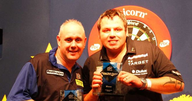 Adrian Lewis: Winner of German title