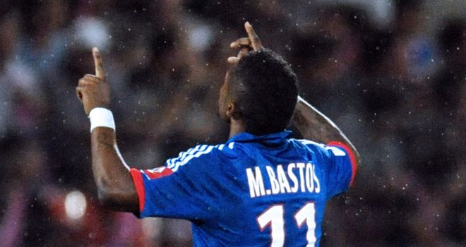 Michel Bastos: On form for Lyon