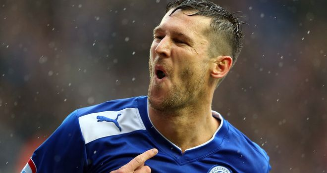 David Nugent: On the mark for Leicester in the win over Bristol City