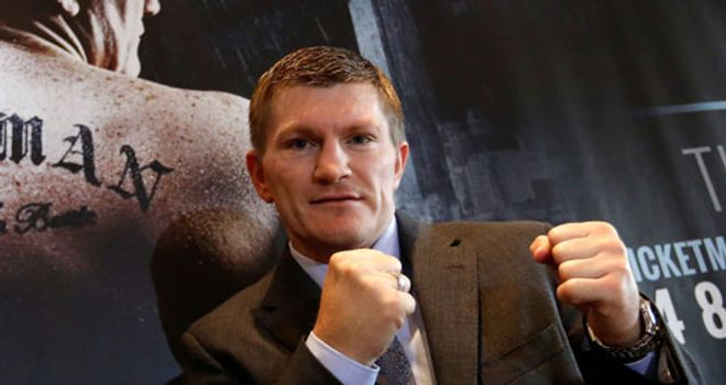 Ricky Hatton: Will face Vyacheslav Senchenko on November 24.