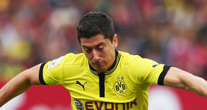 Robert Lewandowski: Borussia Dortmund striker has an open mind about his future