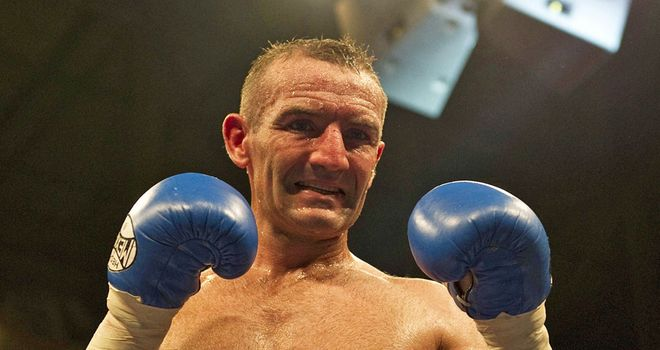 Scott Harrison: lacked the snap in his punches that characterised his early career