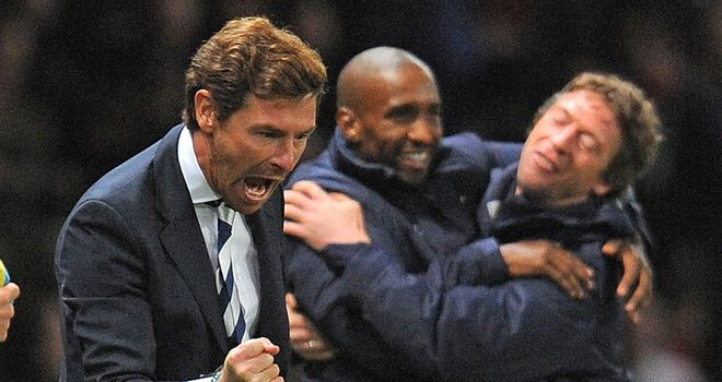 Andre Villas-Boas: Manager of the month for December