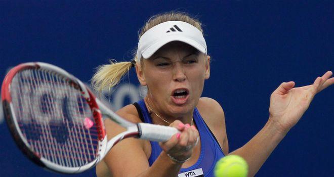 Caroline Wozniacki: A semi-finalist in Moscow