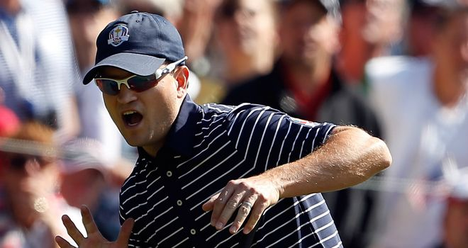 Zach Johnson: had a strong Ryder Cup and lives locally