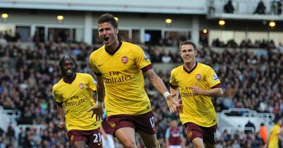 Giroud: Opened his Prem account for Gunners