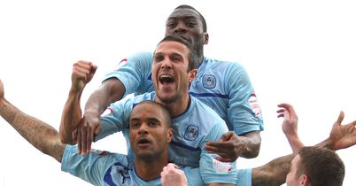 McGoldrick: Hit the winner for Coventry