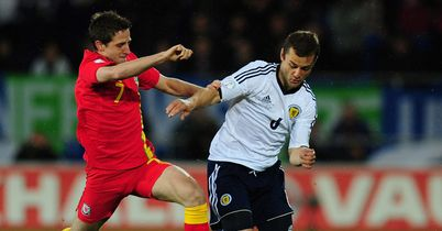 Joe Allen: Believes Wales still have a slim chance of World Cup qualification