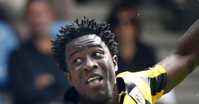 Wilfried Bony: Was the star turn for visiting Vitesse