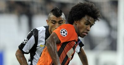 Willian: The Brazilian playmaker has been linked with Chelsea and Tottenham