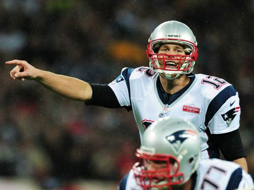 Tom Brady led the Patriots to victory at Wembley