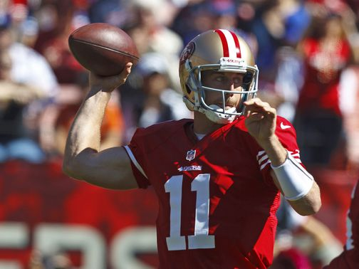 Alex Smith: Big game for the 49ers