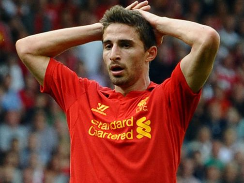 Fabio Borini: Happy with rivalry in Reds squad