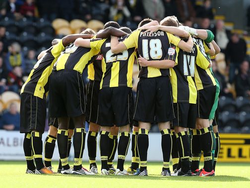 Burton: Backed for victory over Morecambe