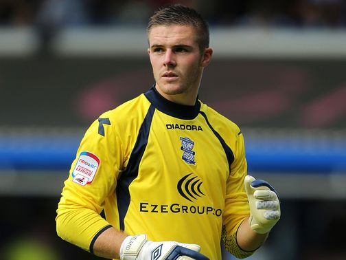 Jack Butland: Could leave Birmingham in January