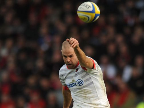 Charlie Hodgson: Scored all 28 points for Saracens