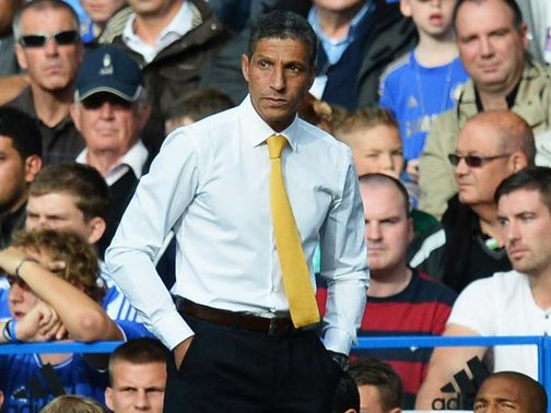 Chris Hughton: Hoping to sustain period of good form