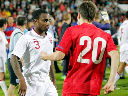 Danny Rose and Nikola Ninkovic on Tuesday