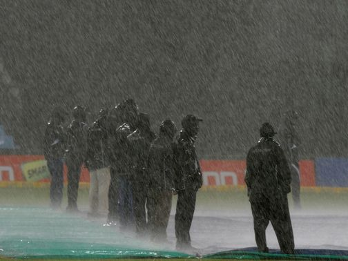 Delhi's clash in Centurion was washed out