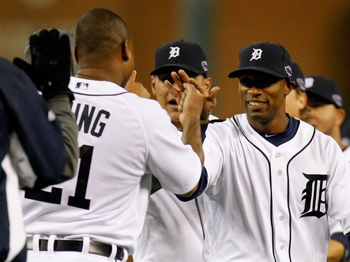 Celebrations for the Detroit Tigers