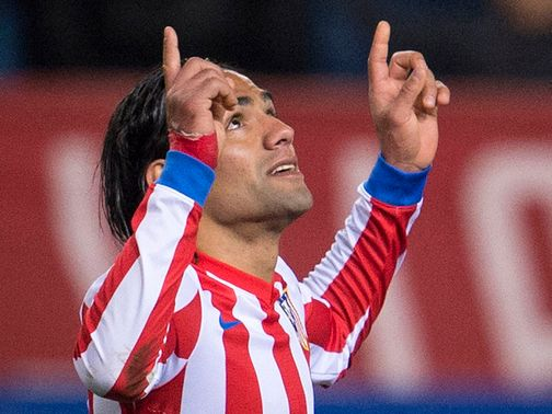 Falcao: Linked with a move to PSG