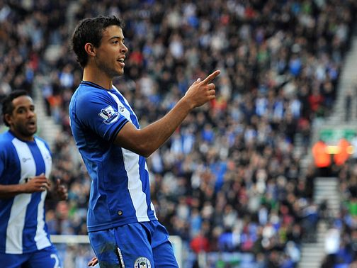 Franco Di Santo: Called up by Argentina