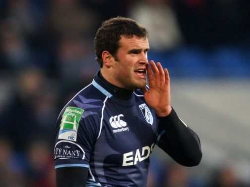 Jamie Roberts: Set to join Racing Metro next summer