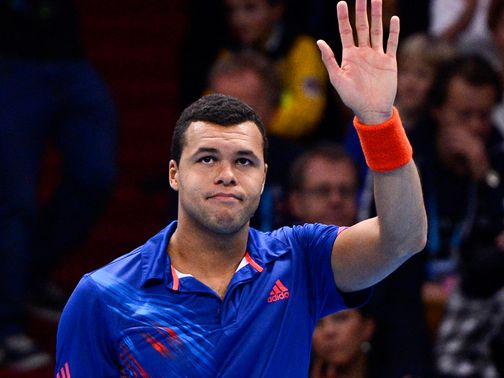 Jo-Wilfried Tsonga: Winner in Paris four years ago