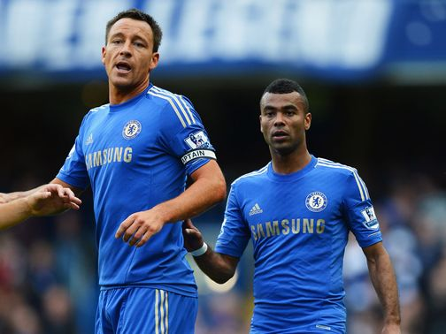 John Terry and Ashley Cole: Making bad news headlines