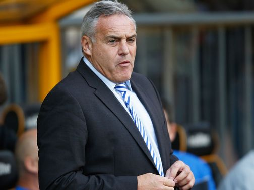 Dave Jones: Insists he won't quit