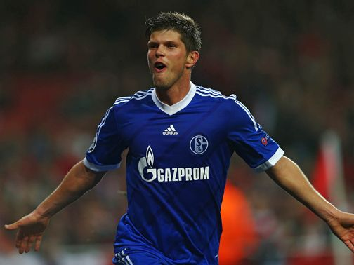 Klaas-Jan Huntelaar: New deal at Schalke