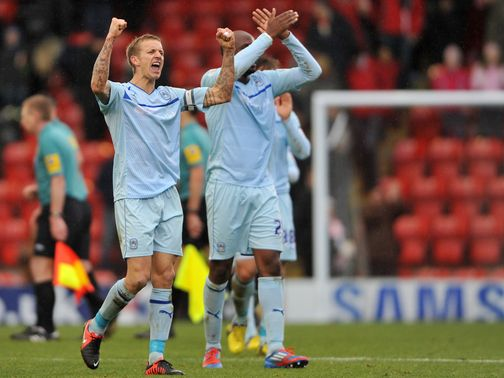 Coventry enjoy victory at Leyton Orient.