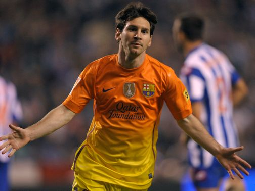 Messi: Got three of Barca's five goals