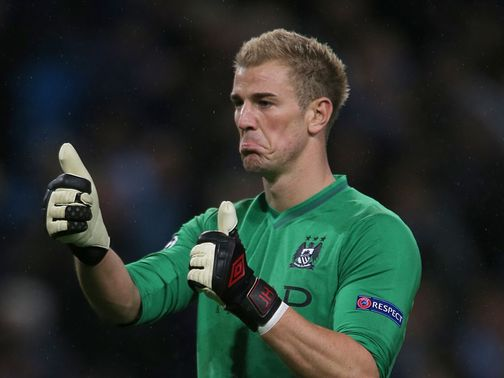 Joe Hart: Top-class display against Dortmund