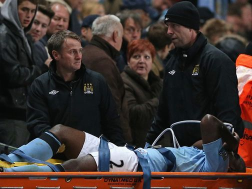 Micah Richards: Injured in victory over Swansea