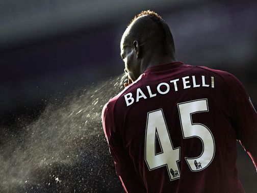 Mario Balotelli: Missed a sitter at Upton Park