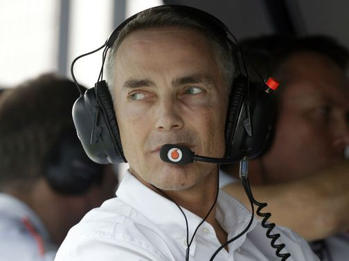 Martin Whitmarsh: Full of praise for Lewis Hamilton
