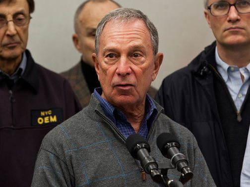 Michael Bloomberg: Cancelled the New York Marathon