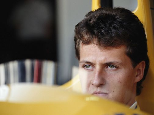 Michael Schumacher quickly joined Benetton after his F1 debut for Jordan in 1991.