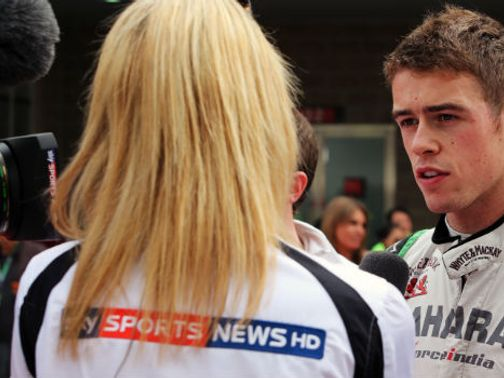 The wait goes on to learn who will partner Paul di Resta