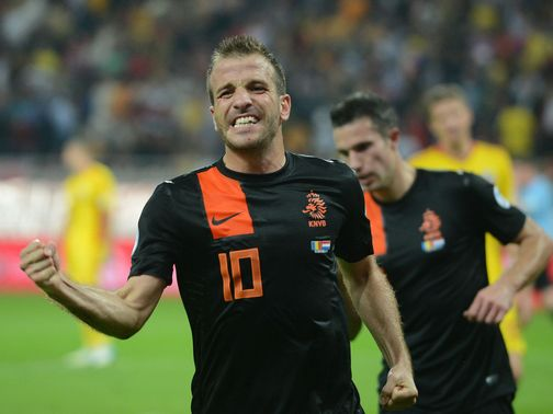 Rafael van der Vaart: On target for Holland