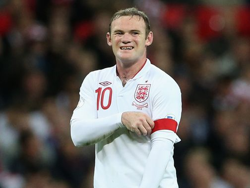 Wayne Rooney: Captain against San Marino