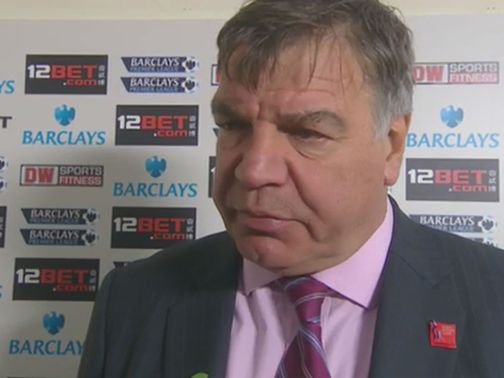 Sam Allardyce: We were never at the races against Wigan