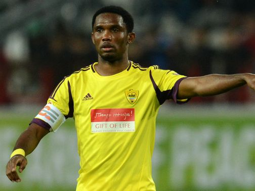 Samuel Eto&#39;o: Scored for Anzhi