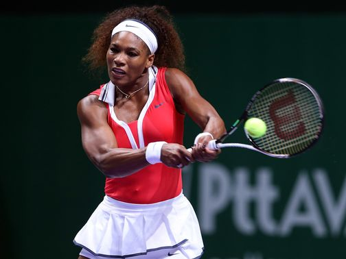 Serena Williams: Solid start